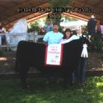 Hannah Smith 4-H Reserve Champion  4-H Champion Local Bred